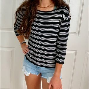 Project Social T Nordstrom Striped Long-Sleeve Tee
